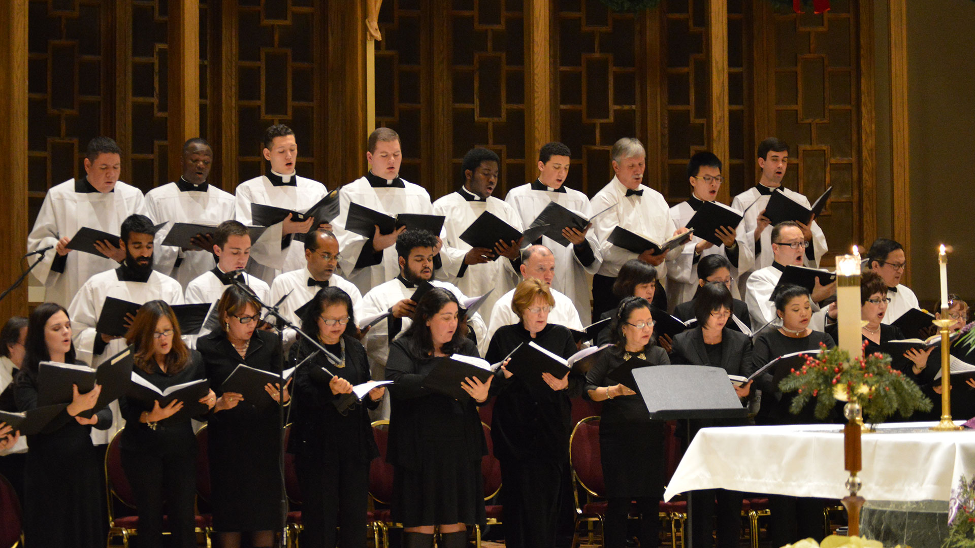 Cathedral Seminary - Carols Event